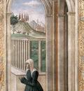 GHIRLANDAIO Domenico Portrait Of The Donor Francesca Pitti Tornabuoni