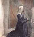 GHIRLANDAIO Domenico Portrait Of The Donor Nera Corsi Sassetti
