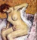 Degas Edgar After The Bath