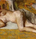 Degas Edgar After the Bath3