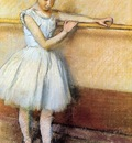 degas edgar dancer at the barre edgar degas circa
