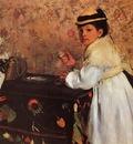 Degas Edgar Hortense Valpin