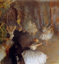 Degas Edgar The Rehearsal Of The Ballet