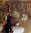 Degas Edgar The Rehearsal Of The Ballet