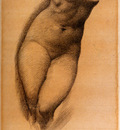 Burne Jones Edward Coley Study For The Figure Of Phyllis In The Tree Of Forgiveness