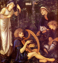 Burne Jones Sir Edward The Madness Of Sir Tristram