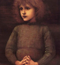 Burne Jones Portrait of a Young Boy