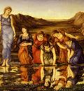 Burne Jones Sir Edward The Mirror Of Venus