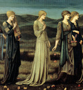 burne jones the wedding of psyche 1895
