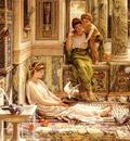 Poynter Sir Edward J Corner Of The Villa