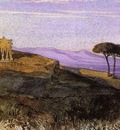 Lear Edward A View In The Roman Compagna