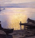 Pothast Edward Along the Mystic River