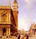 Pritchett Edward St Marks Square Venice