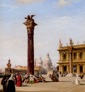 Pritchett Edward The Piazetta St Marks Venice