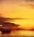 Cooke Edward William Sunset On The Lagune Of Venice