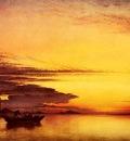 Cooke Edward William Sunset On The Lagune Of Venice