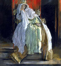 Abbey Edwin Austin The Queen in Hamlet