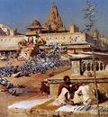 Weeks Edwin Feeding The Sacred Pigeons Jaipur
