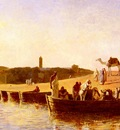 Weeks Edwin Lord At The River Crossing