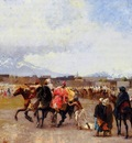 Weeks Edwin Lord Powder Play City of Morocco outside the Walls
