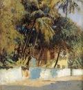Weeks Edwin Lord Street Scene Bombay