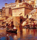 Weeks Edwin On The River Benares