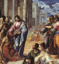 el greco christ healing the blind 1577
