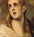 The Penitent Magdalen detail