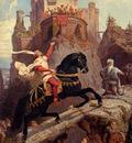 leutze Emanuel The Knight O