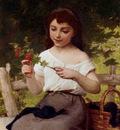 Munier Emile A Sprig Of Flowers