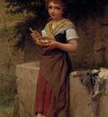 Munier Emile La Jeune Paysanne