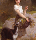 munier 1890 04 young girl with goat and flowers