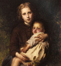 Piot Adolphe Sisterly Love