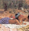 DINET Etienne Bathers Resting