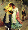 Blaas Eugene de The Flirtation