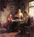 Pieters Evert The Afternoon Meal