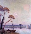 Puigaudeau Ferdinand du Fishermen by the Banks of the Loire