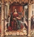 GALLEGO Fernando Triptych Of St Catherine