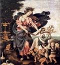 Lippi Filippino Allegory of Music or Erato c1500