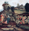 Lippi Filippino Moses brings forth Water out of the Rock