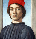 Lippi Filippino Portrait of a youth