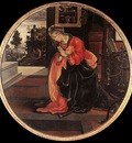 lippi filippino virgin from the annunciation 1483