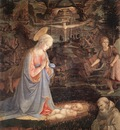 lippi fra filippo adoration of the child with saints