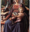 LIPPI Fra Filippo Madonna And Child Enthroned With Two Angels