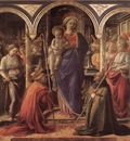 LIPPI Fra Filippo Madonna And Child With St Fredianus And St Augustine