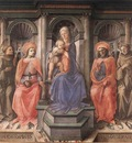 LIPPI Fra Filippo Madonna Enthroned With Saints