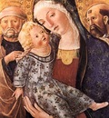 FRANCESCO DI GIORGIO MARTINI Madonna With Child And Two Saints