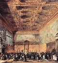 GUARDI Francesco Audience Granted by the Doge