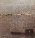 GUARDI Francesco Gondola in the Lagoon