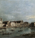 GUARDI Francesco The Grand Canal with Santa Lucia and the Scalzi